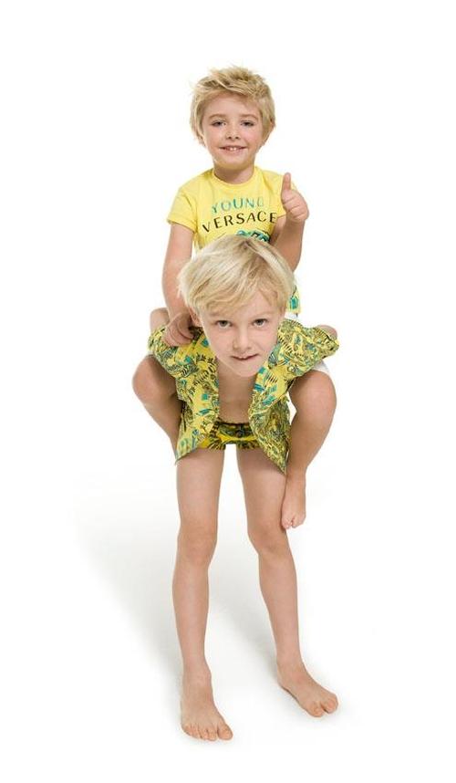 Young Versace Wiosna/Lato 2012 (FOTO)