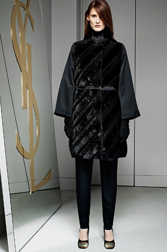Yves Saint Laurent - Pre-Fall 2012