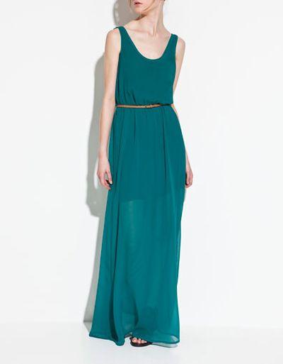 Eleganckie sukienki maxi - przegląd (FOTO)