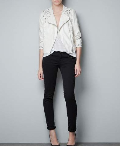 Zara – przegląd ubrań z ćwiekami
