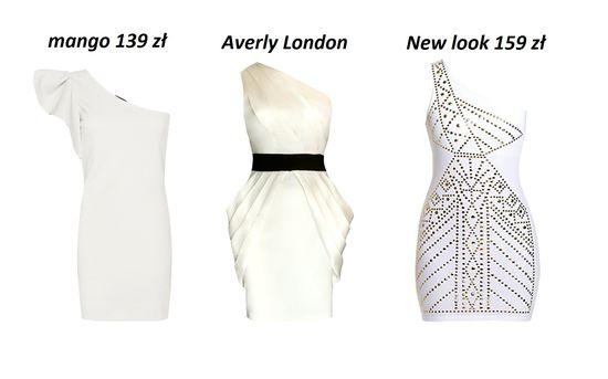 Asymetryczne sukienki na jedno ramię (FOTO)