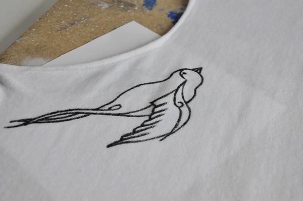 Zrób to sama: bluzka z ptaszkami (FOTO)