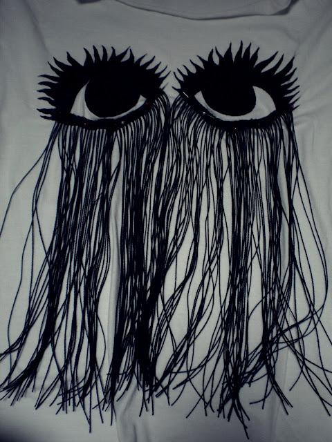 Zrób to sama: t-shirt z oczami (FOTO)