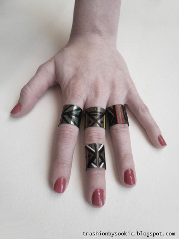 Zrób to sama: metalowe pierścionki (FOTO)