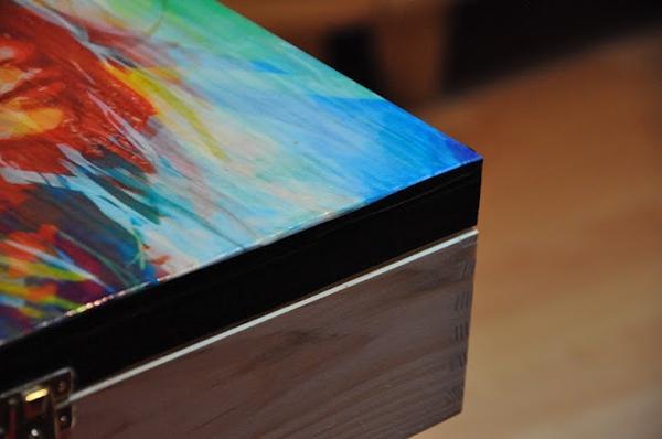 Zrób to sama: pudełko decoupage