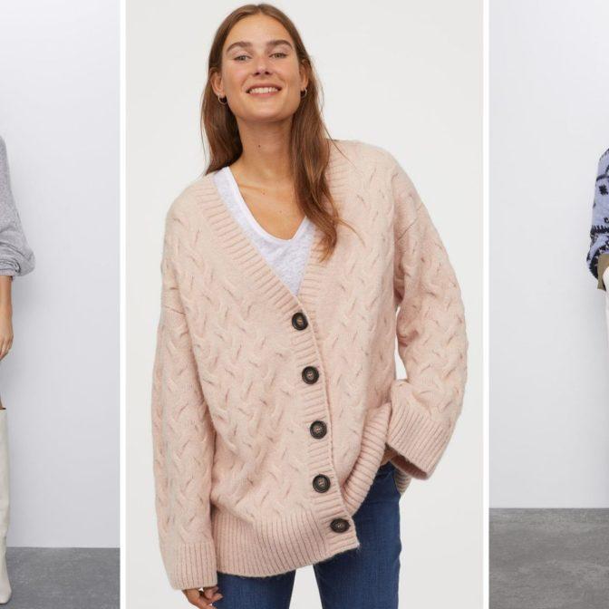 10 najmodniejszych swetrów oversize z sieciówek, które pomogą przetrwać Wam jesień