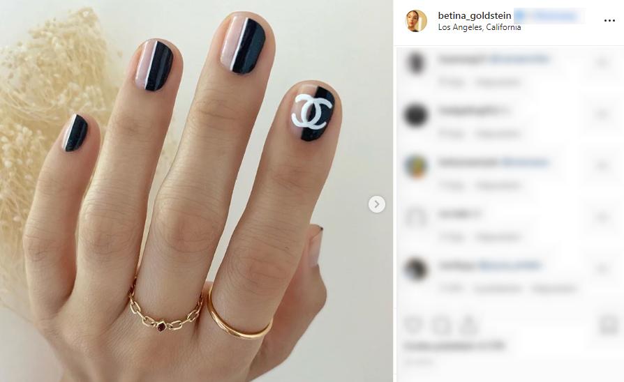 Logomania to najnowszy kontrowersyjny trend w zdobieniu paznokci