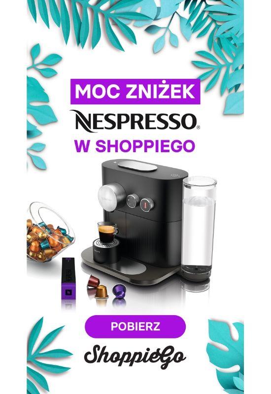 Promocja Nespresso w nowej aplikacji Shoppiego