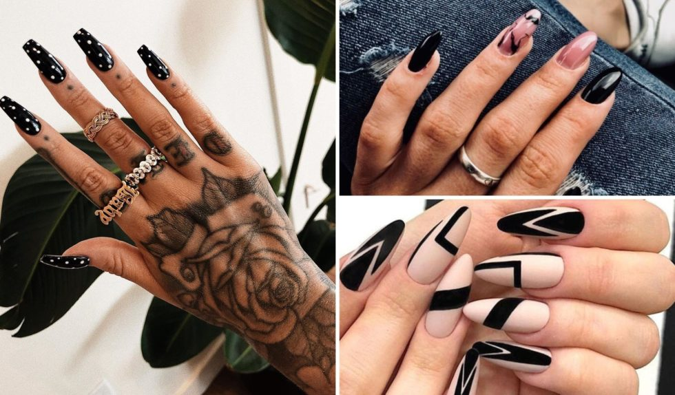 Czarne paznokcie znów w modzie. Oto jak je nosić | Zeberka
