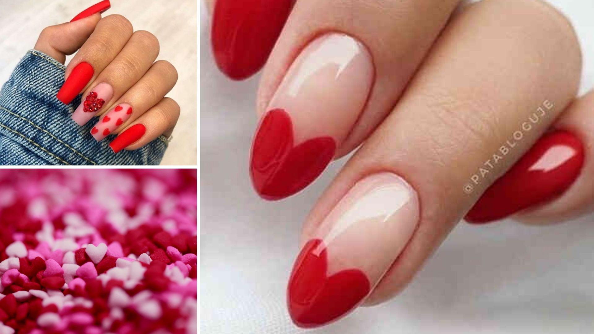 20 Pomyslow Na Czerwone Walentynkowe Paznokcie Sa Cudne Zeberka