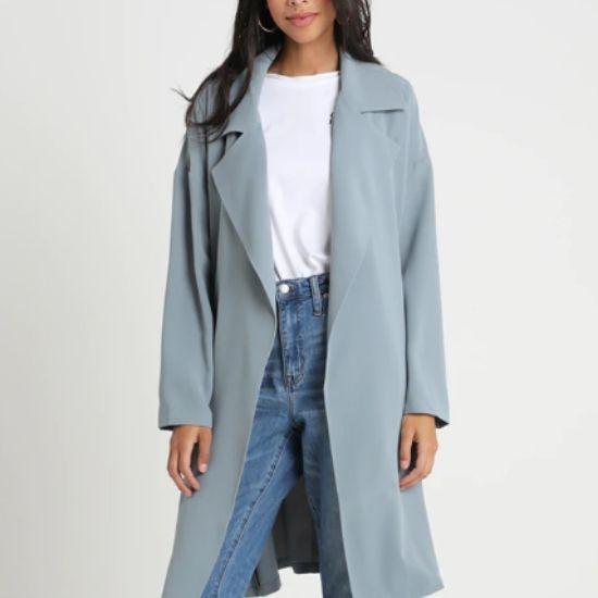 lekki płaszcz