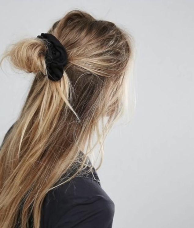 luźna fryzura
