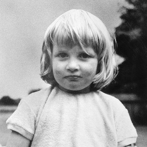 księzna Diana w młodości